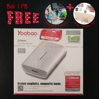 Power Bank Yoobao 5200mAh ORI