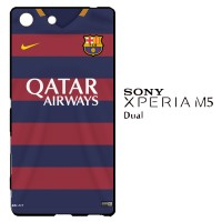 Barcelona Jersey 2015-2016 0009 Casing for SONY Xperia M5 Dual Hardcas