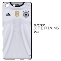 Germany Jersey 2016 0021 Casing for SONY Xperia M5 Dual Hardcase 2D