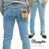 celana panjang jeans slimfit,skinny,stretch pria wrangler