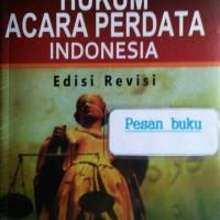 Buku Hukum Acara Perdata Indonesia Sudikno Mertokusumo