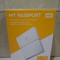 Jual WD My Passport 2017 ULTRA New Design 1TB /USB 3.0/2.5 Inch - White Murah