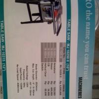 Table Saw 10 inch Potong Kayu Meja WIPRO MJ10250 Berkualitas