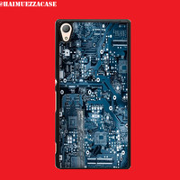 CUSTOM CASE SONY XPERIA Z/Z1/Z2/Z3/Z4/Z5 IPHONE DLL CIRCUIT ELECTRIC