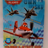 DISNEY PLANES OWN THE SKY COLORING ACTIVITY BOOK