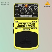 Behringer DW400 (Dynamic Wah, Real Sound Modelling, Pedal Stompbox)