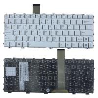 Keyboard Laptop Asus Eee PC 1025, 1025C, 1025CE, EeePC Flare Putih