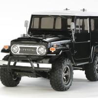 Tamiya 1/10 RC Toyota Land Cruiser 40 - CC01 Black Sp. Painted Body