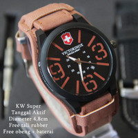 IMPORT Victorinox Combo Leather Coklat Muda PROMO