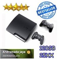 PS3 PS 3 Playstation 3 SONY Slim 120GB CFW seri 25XX HITAM