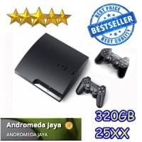 PS3 PS 3 Playstation 3 SONY Slim 320GB CFW seri 25XX HITAM