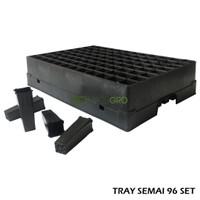 Tray Semai 96 / Tray Tanaman / Tray Bibit / Hidroponik / Pembibitan