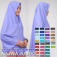 jilbab instan najwa jumbo Berkualitas