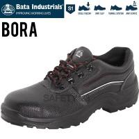 Bata Bora Black Sepatu Safety Shoes Industrials Termurah Proyek Pabrik
