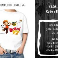 Baju Kaos Anak Boboiboy - Bb 013 / Custom Design