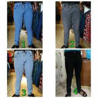 celana panjang jeans slimfit Quiksilver / jeans slim fit Quik silver
