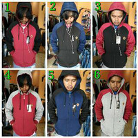 jaket vans hoodie zipper / sweater / switer hoodie zipper kombinasi