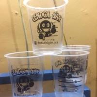 Sablon Cup / Gelas Plastik 9 gram 12 - 16oz (POLYCUP)