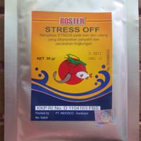 obat ikan STRESS OFF BOSTER ANTI STRESS VITAMIN C DOSIS TINGGI UNTUK P