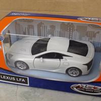 Mainan Anak diecast apolo 1:36 lexus LFA white (ACR 101)