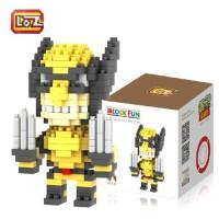 LOZ Nano Diamond Block | WOLVERINE | Lego mini | Action Figure