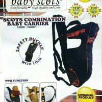 Gendongan Baby Scots Combination Baby Carrier/Gendongan Bayi -Murah