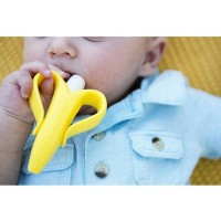 Nuby Banana Toothbrush Teether Nananubs Massager -Kualitas Bagus