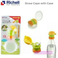 Richell Straw Bottle Cap With Strap -Promo...