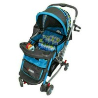 Stroller Pliko Grande With 4In1 Features Kereta Dorong Bayi -Good