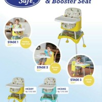 Baby Safe High Chair & Booster Seat -Promo...