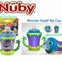 Nuby Monster Twin Handle 210Ml/Nuby Baby Spout Handle -Sale Off
