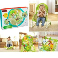 Baby Bouncer Rocker New Born To Toddler Kursi Duduk Bayi Fisher Price