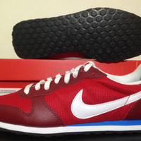 Sepatu Sneaker/Casual Nike Genicco TM Red White 644441-614 Original