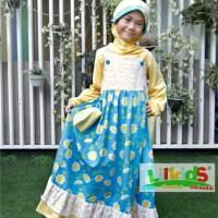 Baju Muslim Anak Afra Size 4 RP 184.000