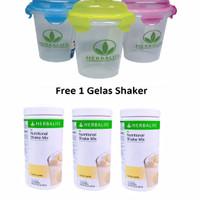 Herbalife#Shake#Herbal#Shake VANILA 3+ 1 GELAS