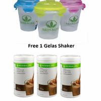 Herbalife#Shake#Herbal#SHAKE COKLAT 3+ 1 GELAS