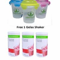 Herbalife#Shake#Herbal#Shake BERRY 3+ 1 GELAS