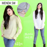 Jual PROMO MENDA SWEATER (turtlencek vs roundhand) konveksi rajut sweater Murah