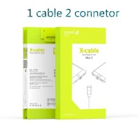 Jual WSKEN Magnetic Cable Mini 2 For Iphone & Micro USB (Android) Murah