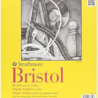 "Strathmore 300 Series Bristol 9"" x 12"" Vellum - 20 Sheets"