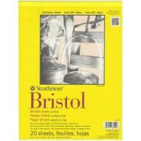 "Strathmore 300 Series Bristol 9"" x 12"" Smooth - 20 Sheets"