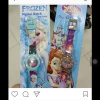 jam tangan anak frozen & Sofia