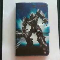 "Flipcover Tab Asus Zenfone Go 6.9"" ZB690KG 6.9 inch Book Cover Gambar"