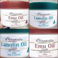 Australian Emu Oil Cream with Vitamin E Moisturizing Cream