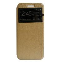 My User Flip Cover Oppo R7S - Gold