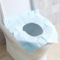 Alas Kertas Kedap Air Disposable Closet Seat Cover Kertas Alas Toilet