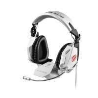 MAD CATZ PC MCZ F.R.E.Q.7 Headset - White