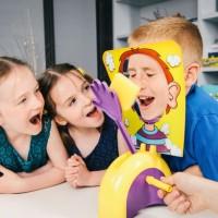 Cream Pie Face Challenge Fun Game Mainan Lucu Unik Prank Toys New Ho