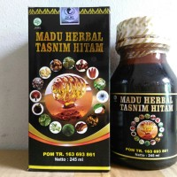 Madu Herbal Tasnim Hitam Multi Manfaat 17 in 1 | Madu Hitam plus 17in1