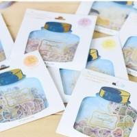 Seri 1 Jelly Sticker Pack - Sticker Lucu Unik